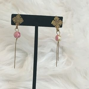 Ethiopian cross earrings